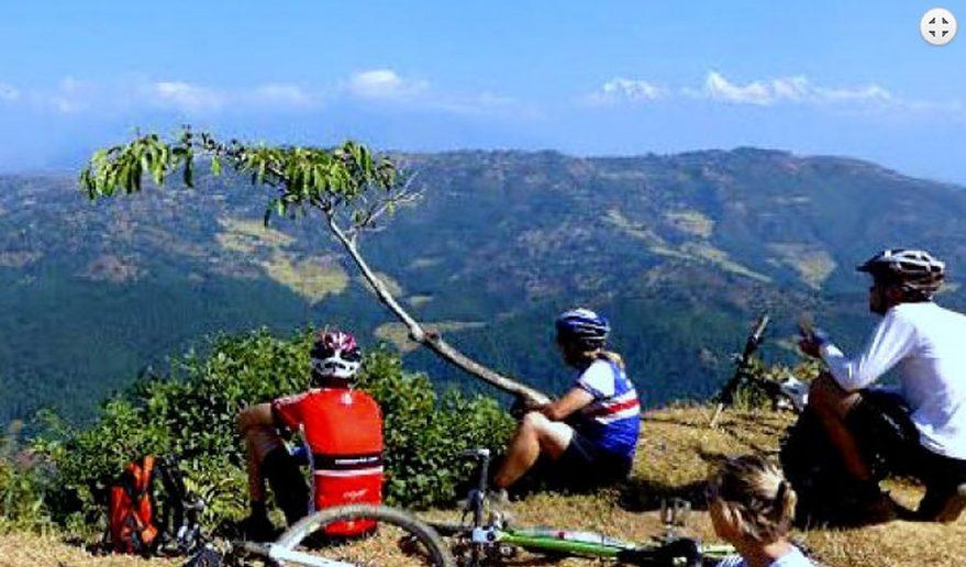 Kathmandu valley Bike tour in nepal.