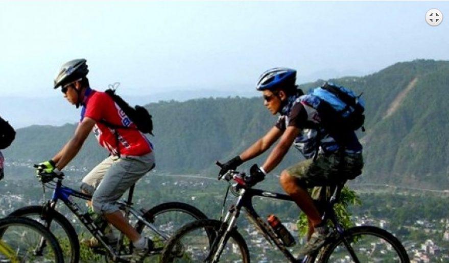 Kathmandu valley Bike tour.