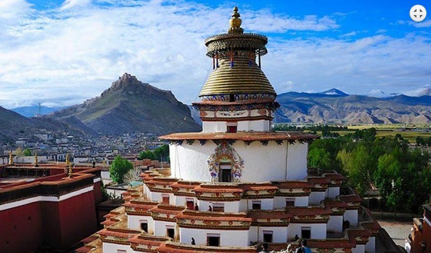 Nepal Tibet Tour | Khumbum Stupa at Gyantse.