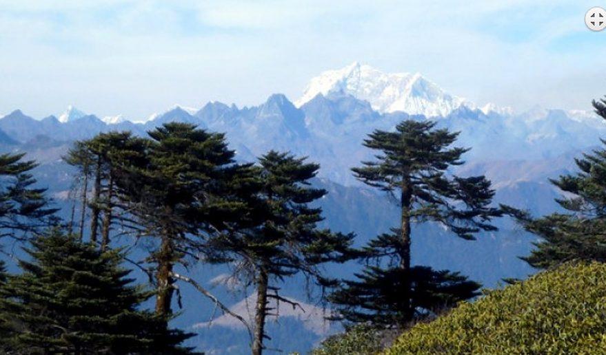 Kithpu Ridge View Bumthang Owl Trek.