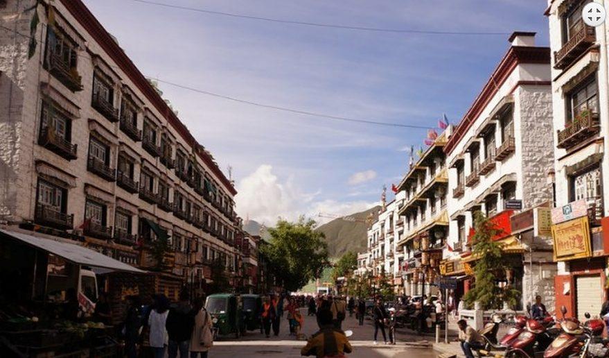 Lhasa City.