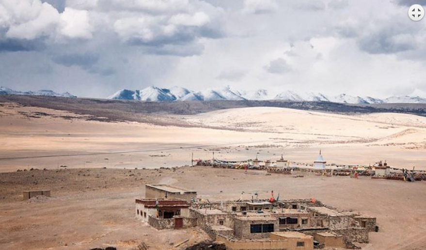 Mt. Kailash and Guge Kingdom Tour | Local village near Mansarovar Lake.