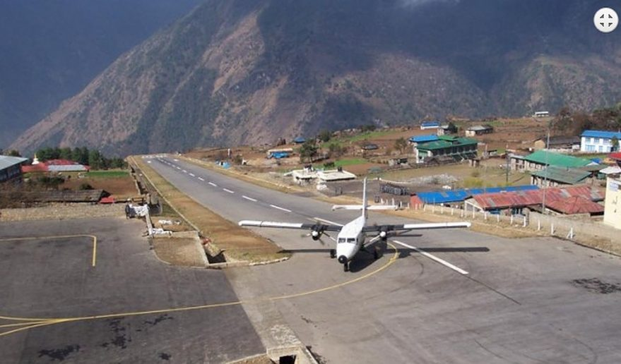 Helicopter Tour to Everest | Lukla Airport.