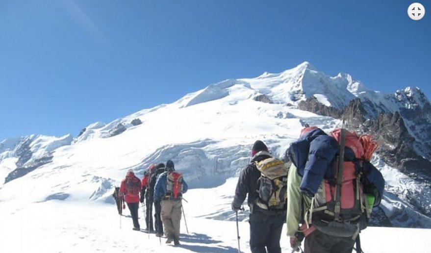 Climbing Mt Baruntse 7129m | Mera La Pass