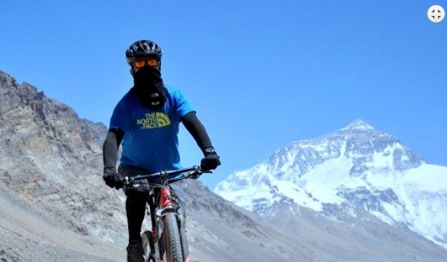 Mount Kailash Biking.