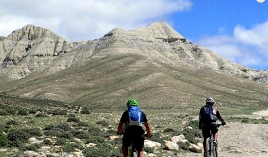Mountain Biking at Upper Mustang.