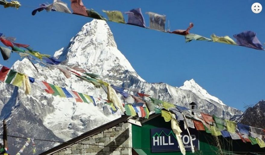 Mt. Amadablam seen from Dingboche