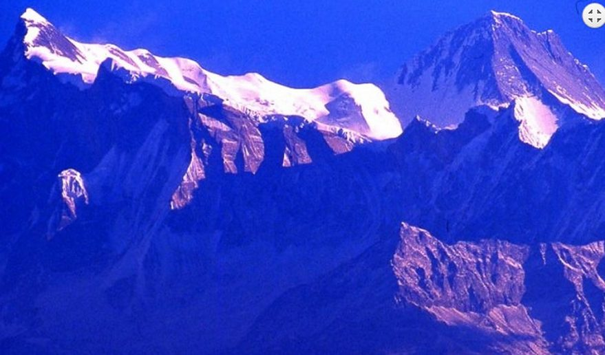 Mt. Annapurna IV from Annapurna I expedition