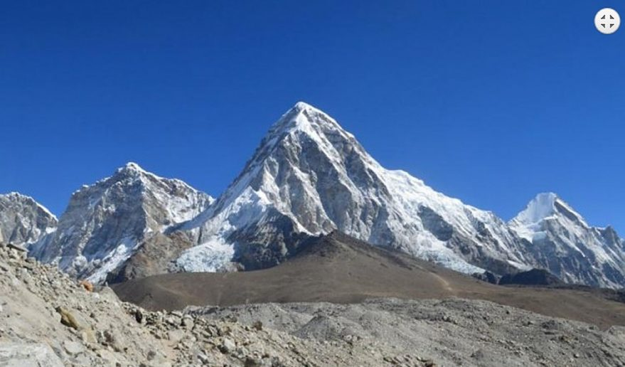 Mt. Pumori seen from Kalapatthar 5545m