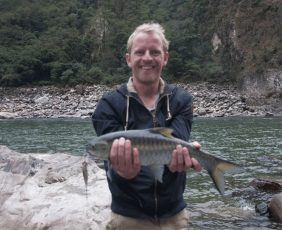 Nice Catch at Budi Gandaki River.