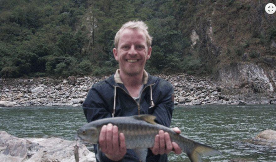 Nice Catch at Budi Gandaki River.