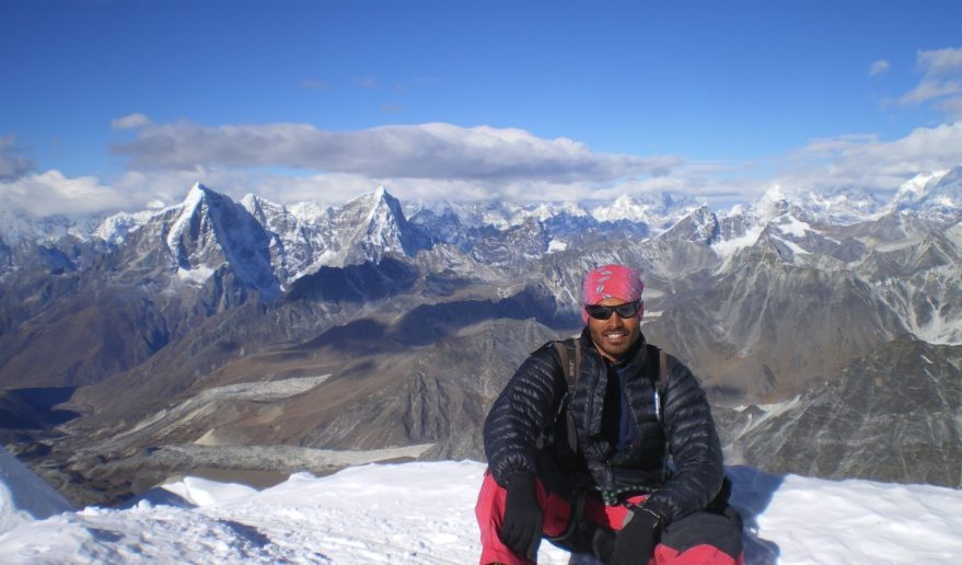 View of Parchamo Summit