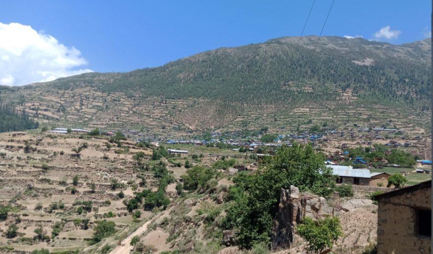 Sherpa Village at Everest Region