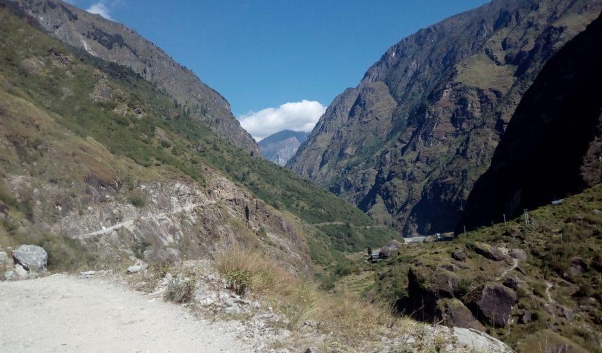 Panoramic View of Pisang Peak