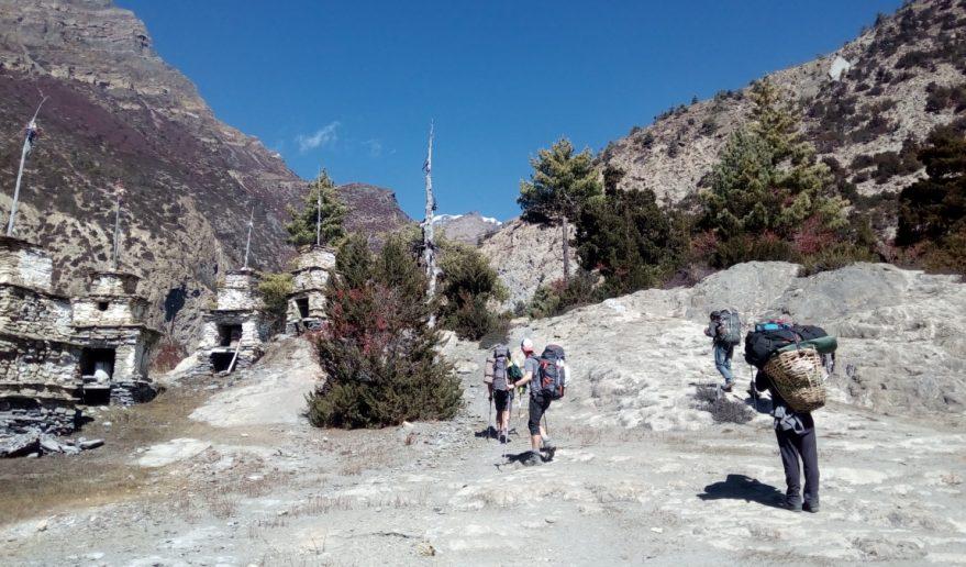 Pisang Peak Trek