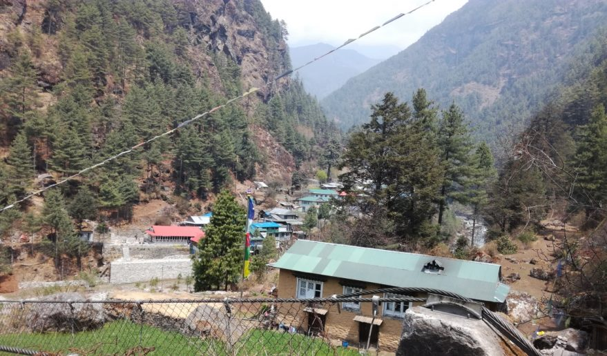 Phakding Village at Khumbu