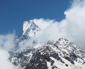 Mt. Fishtail From Mardi Himal