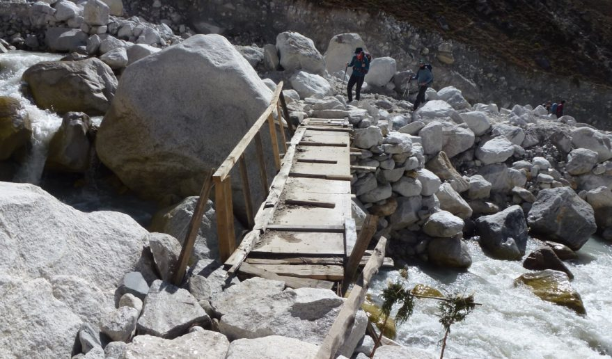 Island Peak Foot Bridge