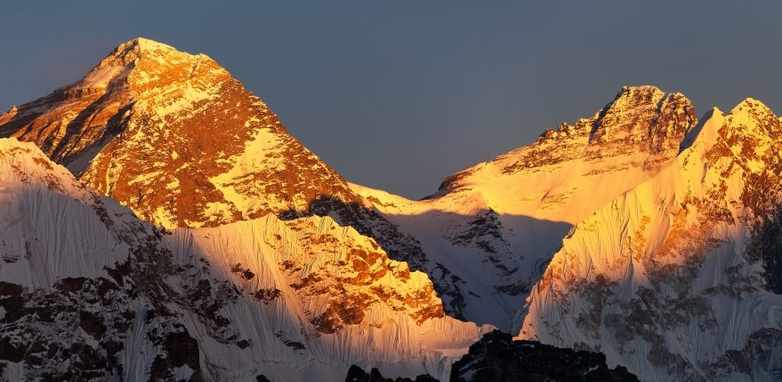 Sunset View of Everest