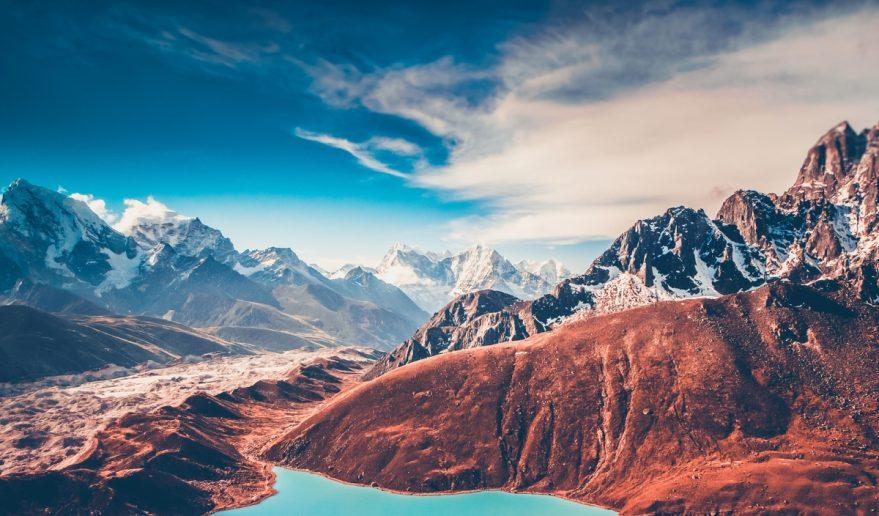 Himalayas View from Gokyo Ri