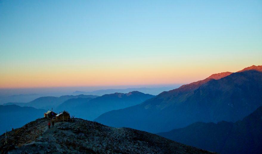 Sunrise View of Annapurna Himal