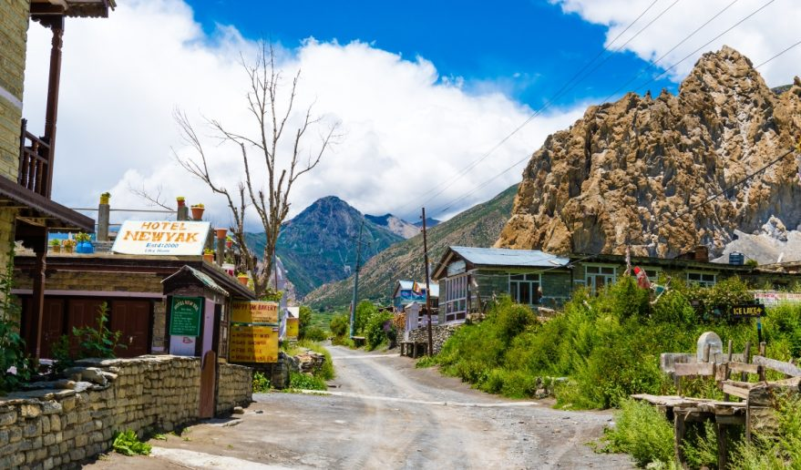 Traditional Architecture at Manang Village