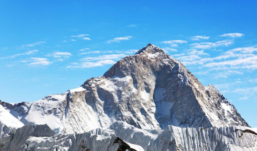 View of Mt. Makalu 8485 m