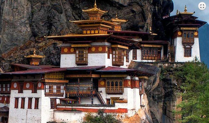 Glimpse of Bhutan Tour   Paro Taktsang Monastery.