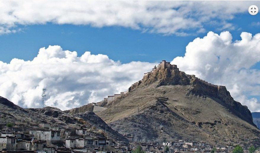 Picture at Gyatse - Palcho Monastery.