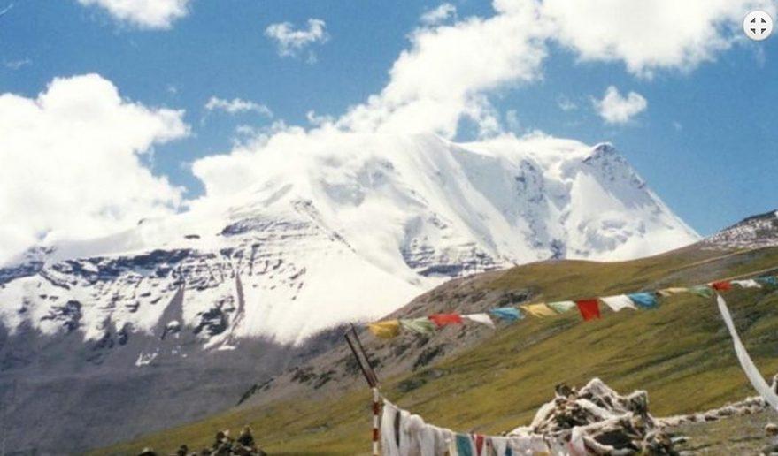 Picture during Ganden Monastery to Samye Valley Trekking in Tibet.