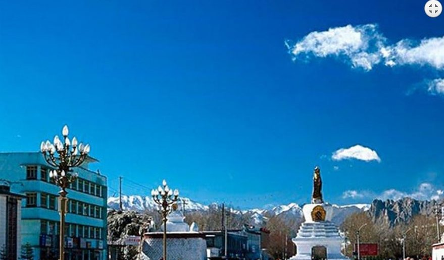 Picture during Lhasa Sightseeing.