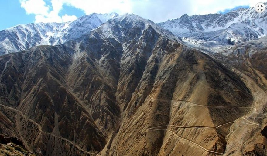 Mt. Kailash and Lhasa Tour via Simikot | Picture from Nara La Pass 4535m.