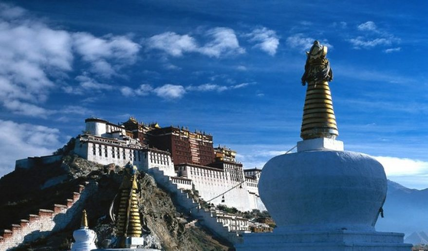 Potala Palace Sightseeing tour at Lhasa.
