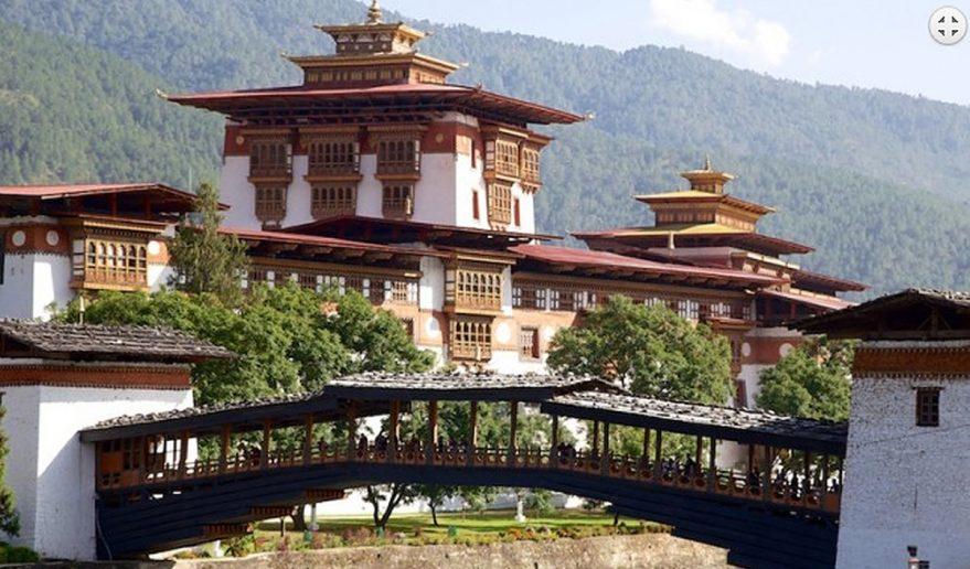 Punakha Dzong in Bhutan.