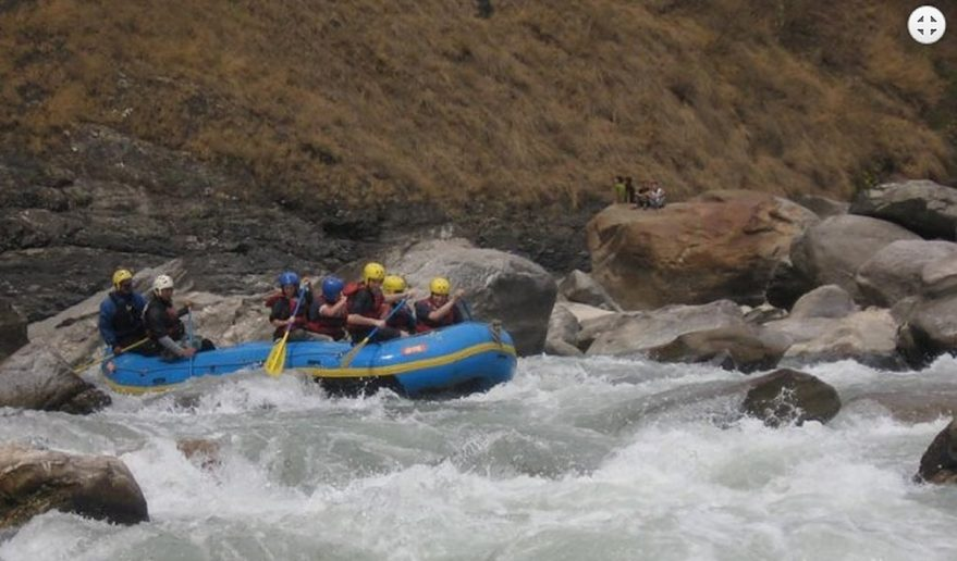 Rafting in Nepal | Rafting at Bhote Koshi River.
