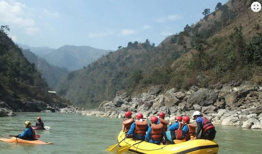 Rafting in Nepal | Rafting at Trishuli River.