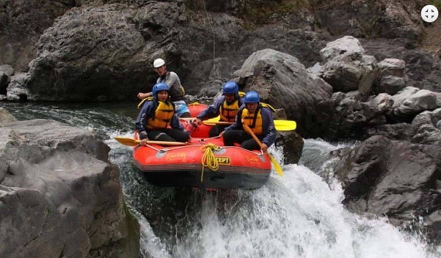 Rafting in Bhotekoshi River.