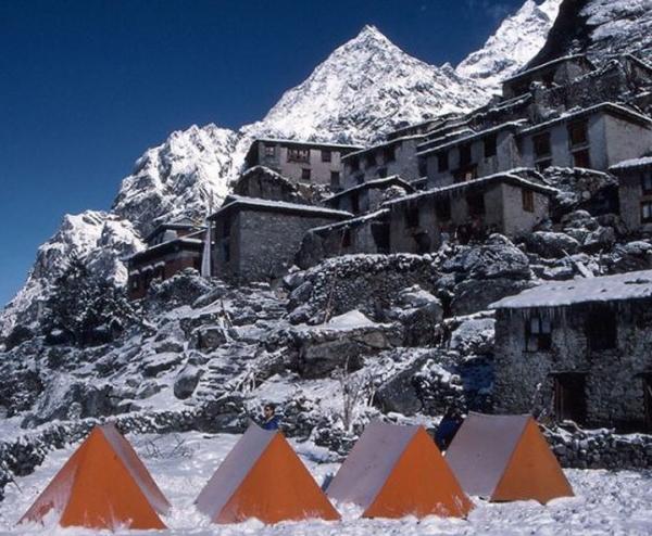 Ramdung Peak Base Camp