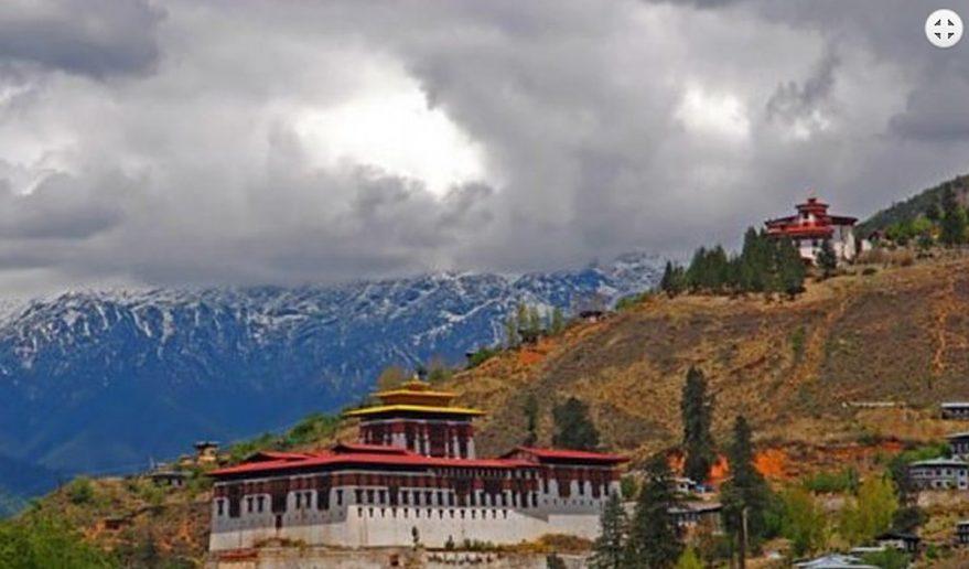 Nepal Bhutan Tour | Rinpung Dzong at Paro.