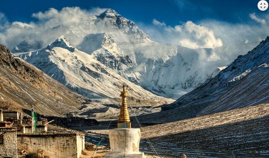Kathmandu Lhasa EBC Tour | Rongbuk Monastery.