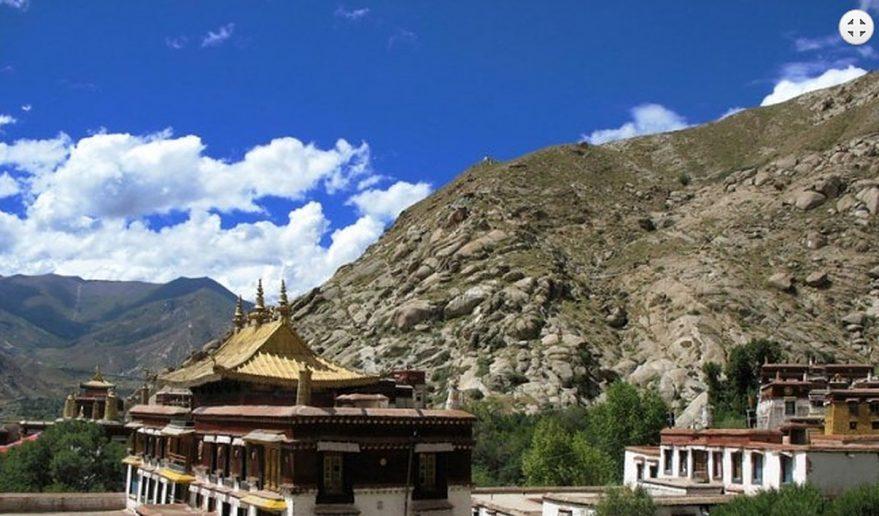 Sera Monastery at Lhasa.