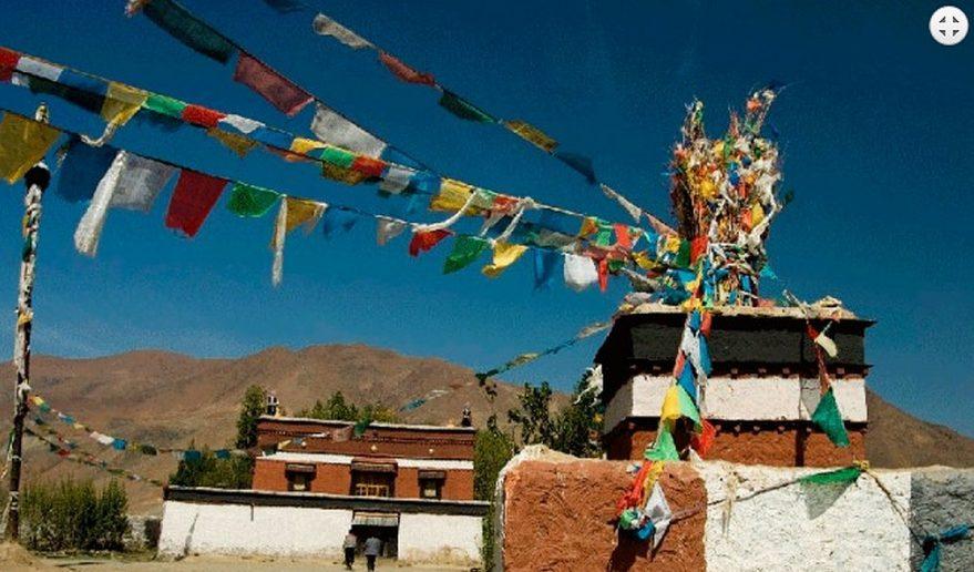 Shalu Monastery Sightseeing.