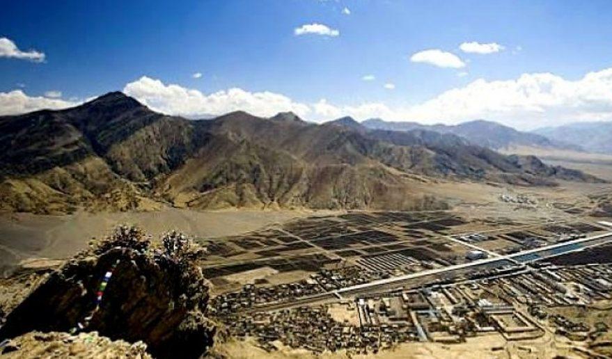 Shegar, Tibet.