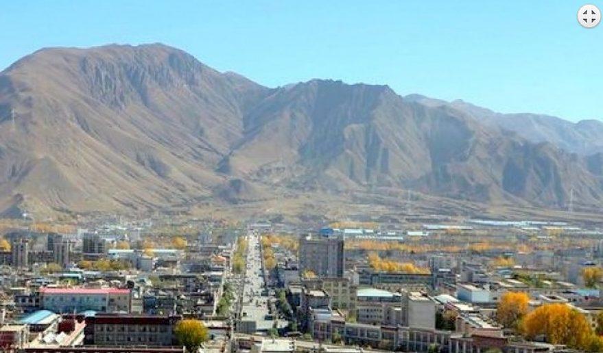 Shigatse City Tibet Everest Advance Base Camp Trek.