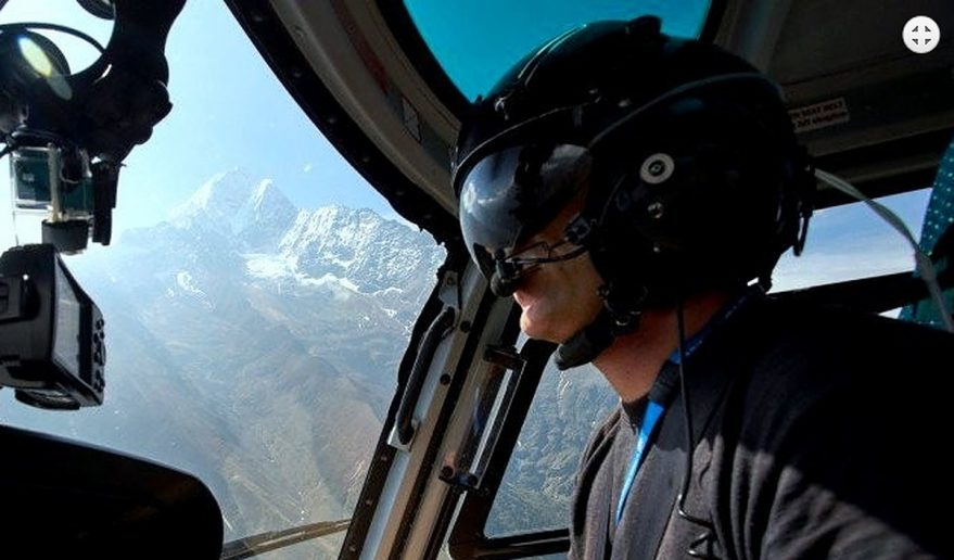 Short Helicopter tour to Everest