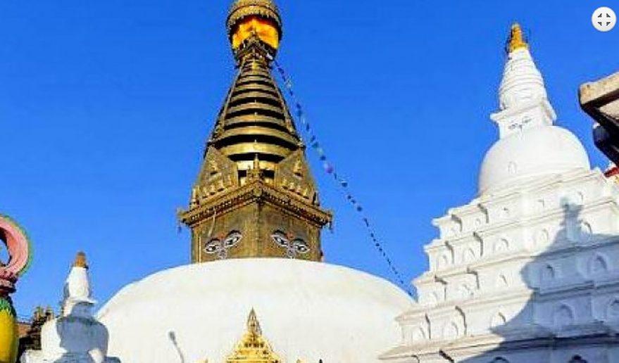 Sightseeing In Kathmandu Swayambhunath(monkey Temple).