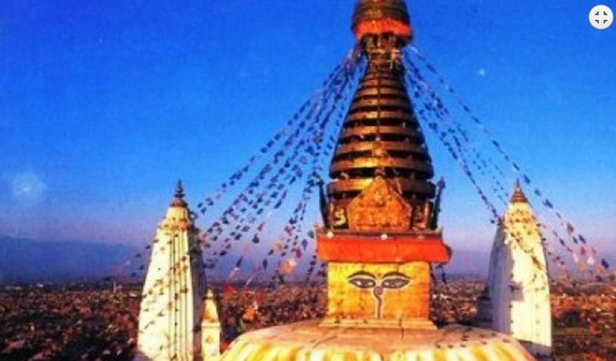Kathmandu Valley Sightseeing | Swayambhu Nath Temple.