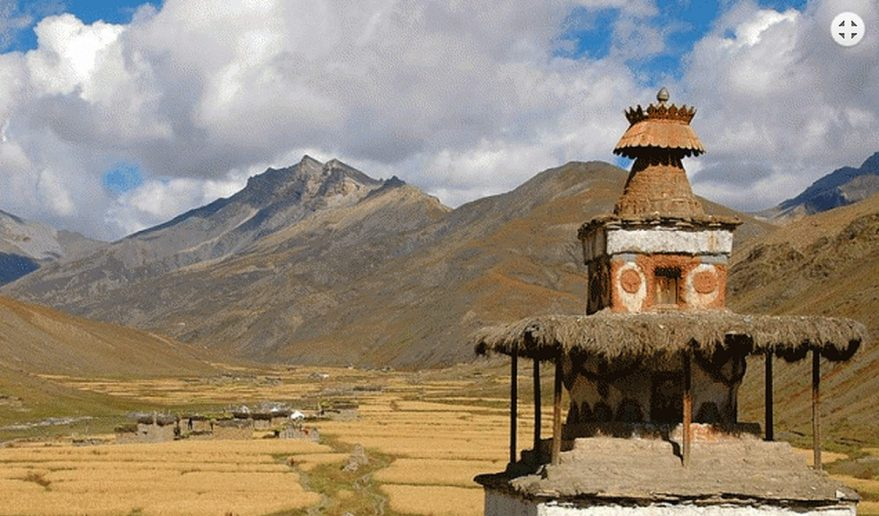 Tarap Valley located at Southern Dolpo