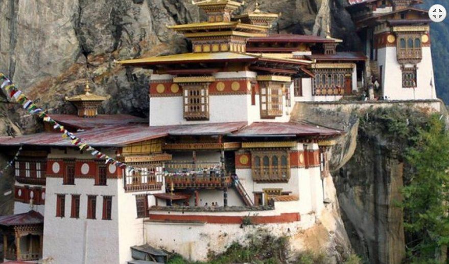 Journey to Druk Yul   Tiger Nest Monastery at Paro.