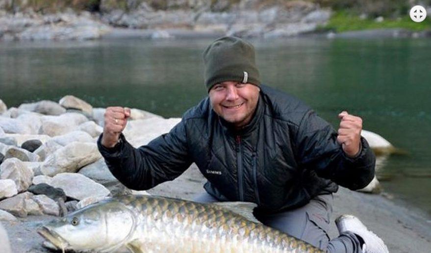 Trishuli River Fishing in Nepal.